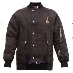 NWT Authentic Moncler x Palm Angels Bomber Jacket